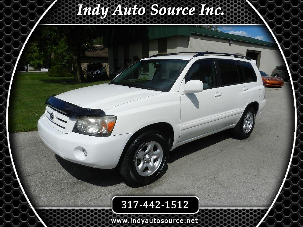 2006 Toyota Highlander 2WD with 3rd-Row Seat
