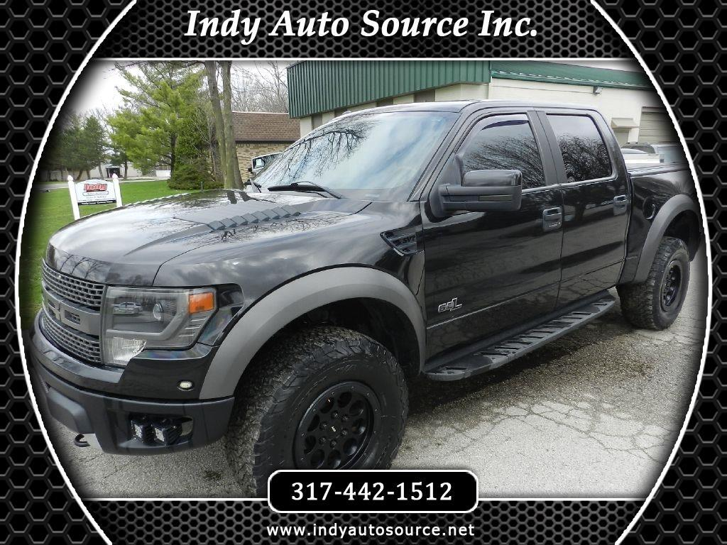 Ford F-150 SVT Raptor SuperCrew 5.5-ft. Bed 4WD 2013