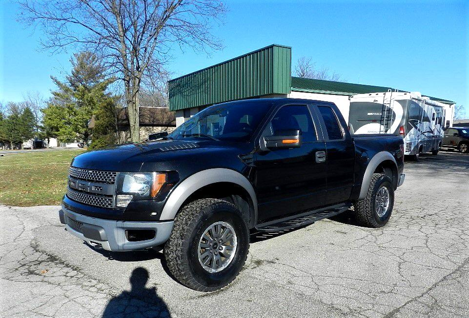 Ford F-150 SVT Raptor SuperCab 5.5-ft. Bed 4WD 2010