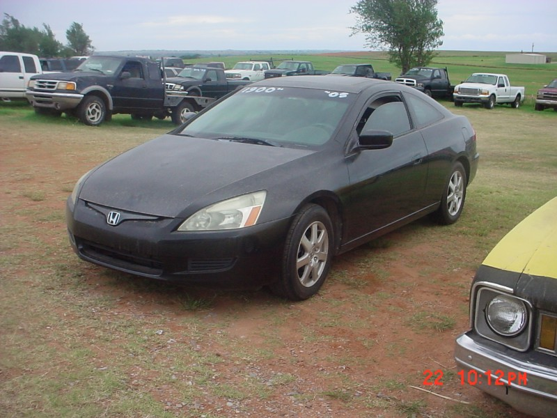 2005 Honda Accord EX V-6 Coupe AT with XM Radio