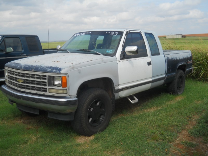 1993 Chevrolet C/K 1500 Ext. Cab 6.5-ft. Bed 4WD
