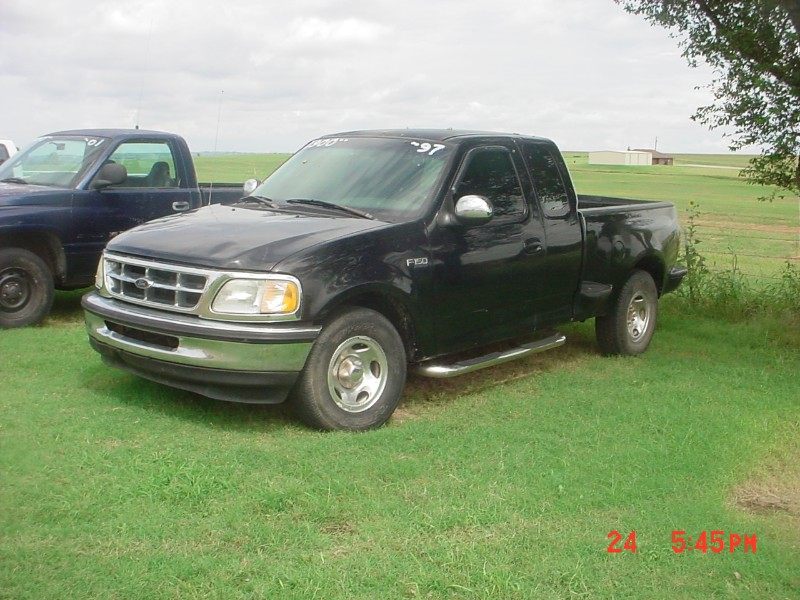 Ford F-150 SuperCab Flareside Short Bed 2WD 1997