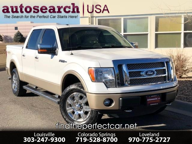 2012 Ford F-150 Lariat 4WD SuperCrew 6.5' Box