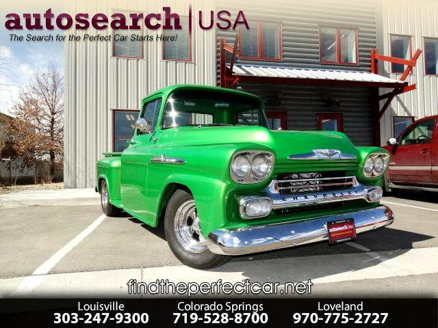 1958 Chevrolet 3100 Apache Base
