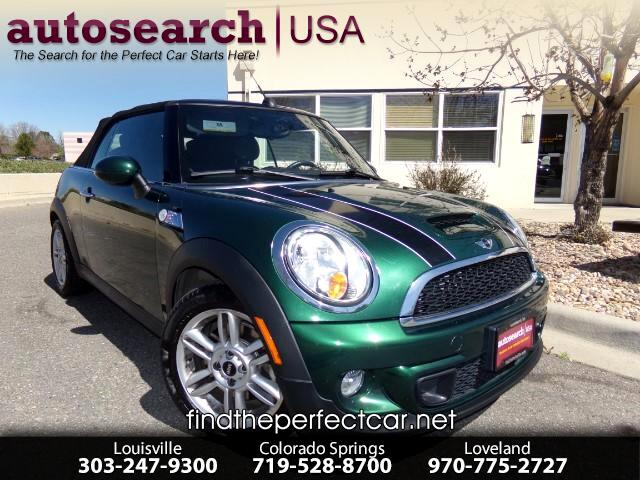 2012 MINI Cooper Convertible 2dr S