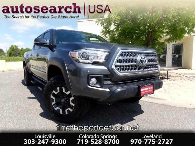 2016 Toyota Tacoma SR5 Double Cab Super Long Bed V6 6AT 4WD