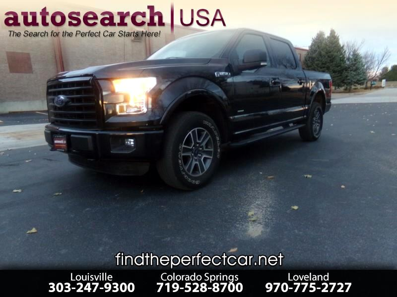 2015 Ford F-150 XLT SuperCrew 5.5Ft Bed 4WD