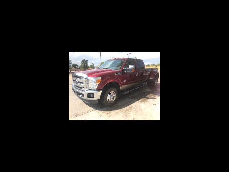 2013 Ford F-350 SD Lariat Crew Cab Long Bed 4WD DRW