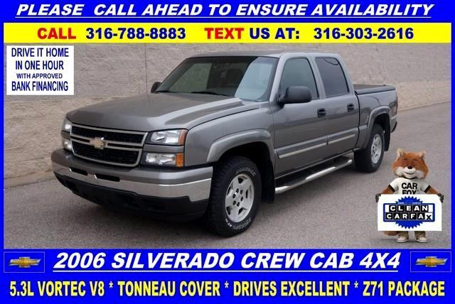 2006 Chevrolet Silverado 1500 LT1 Crew Cab 4WD