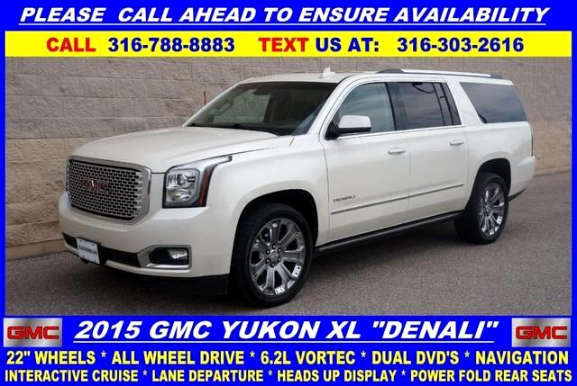 2015 GMC Yukon Denali XL 4WD
