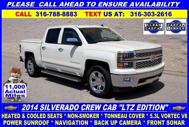 2014 Chevrolet Silverado 1500 1LZ Crew Cab 2WD