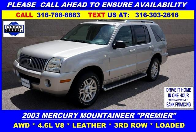 2003 Mercury Mountaineer Luxury 4.6L AWD