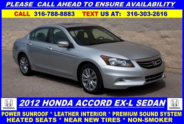 2012 Honda Accord EX-L V6 Sedan AT