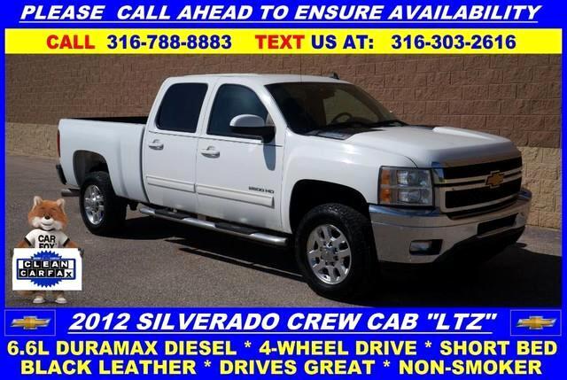 2012 Chevrolet Silverado 2500HD LTZ Crew Cab 4WD