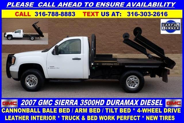 2007 GMC Sierra 3500HD SLE1 Long Box SRW 4WD