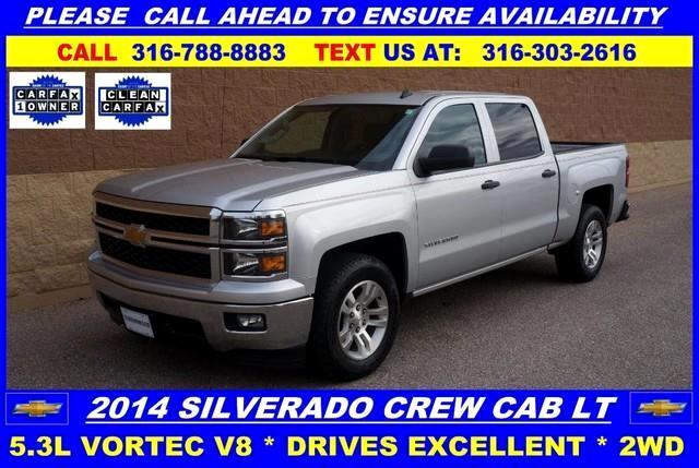 2014 Chevrolet Silverado 1500 2LT Crew Cab 2WD