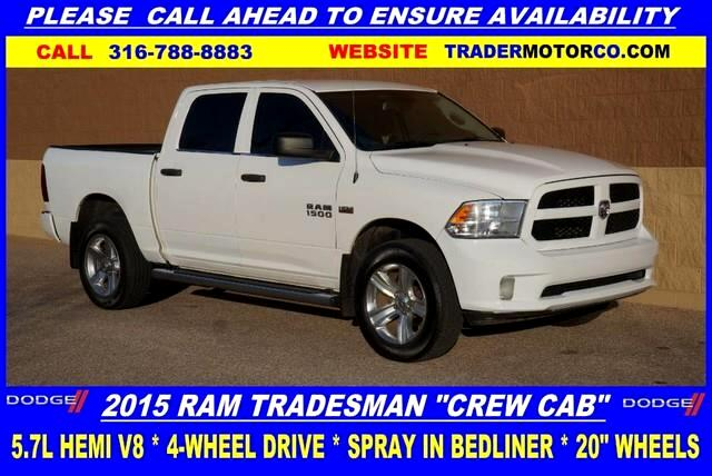2015 RAM 1500 Tradesman Crew Cab SWB 4WD