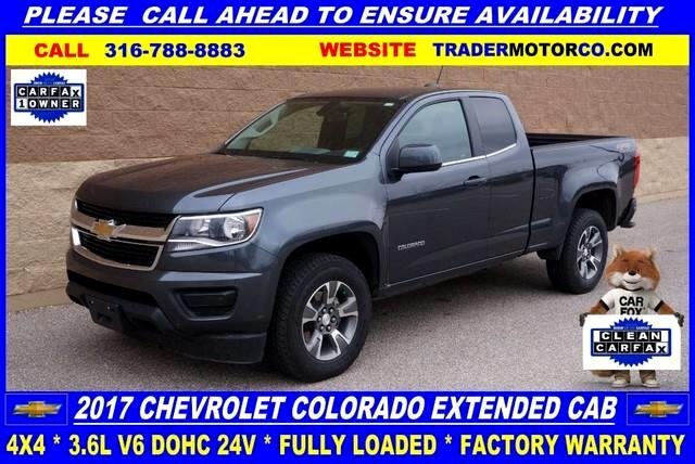 2017 Chevrolet Colorado Work Truck Ext. Cab 4WD
