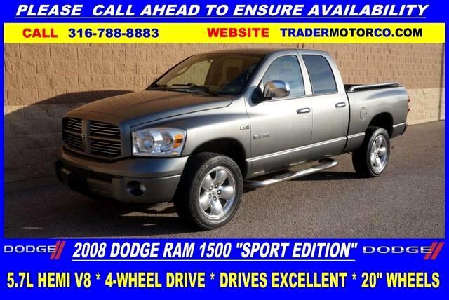 2008 Dodge Ram 1500 ST Quad Cab 4WD