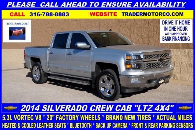 2014 Chevrolet Silverado 1500 1LZ Crew Cab 4WD