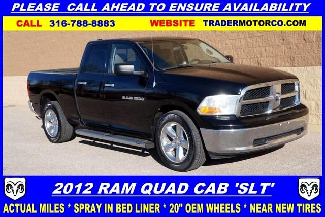 2012 RAM 1500 SLT Quad Cab 2WD