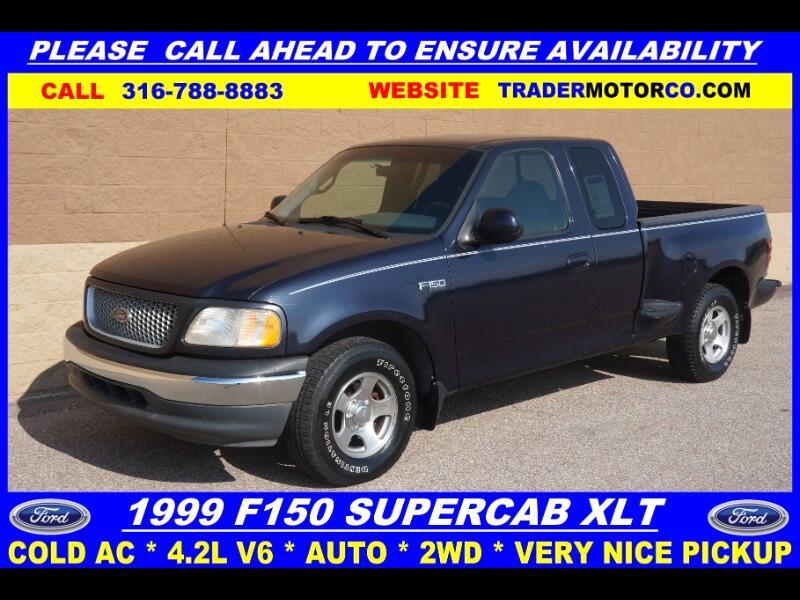 1999 Ford F-150 XLT SuperCab Flareside 2WD