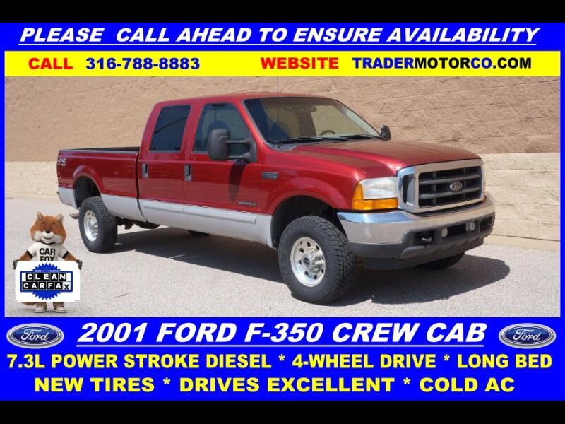 2001 Ford F-350 SD XLT Crew Cab 4WD