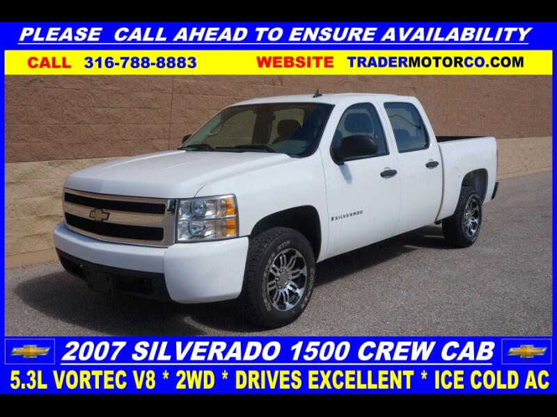 2007 Chevrolet Silverado 1500 Work Truck Crew Cab 2WD