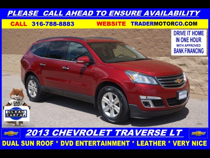 2013 Chevrolet Traverse AWD 4dr LT Leather w/3LT