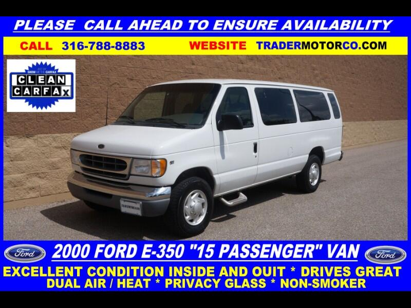 2000 Ford Econoline E-350 XLT Super Duty Extended