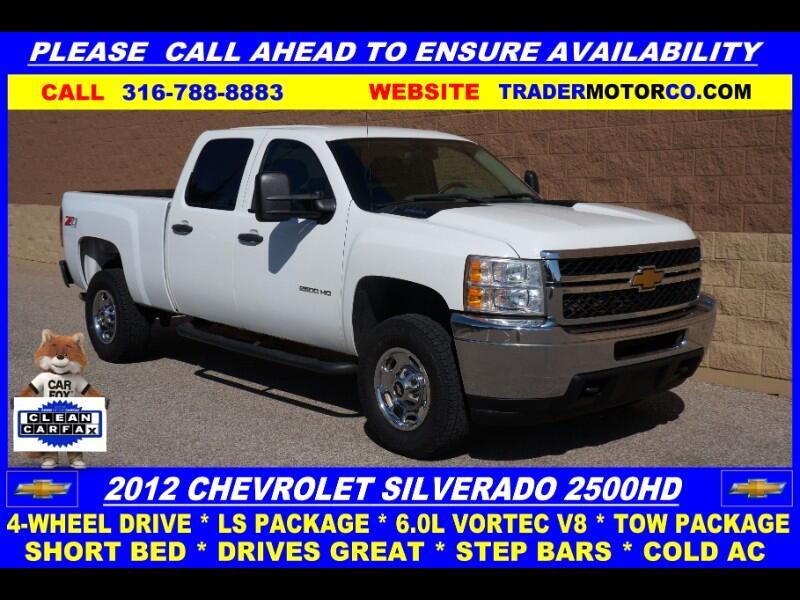 Chevrolet Silverado 2500HD Work Truck Crew Cab 4WD 2012