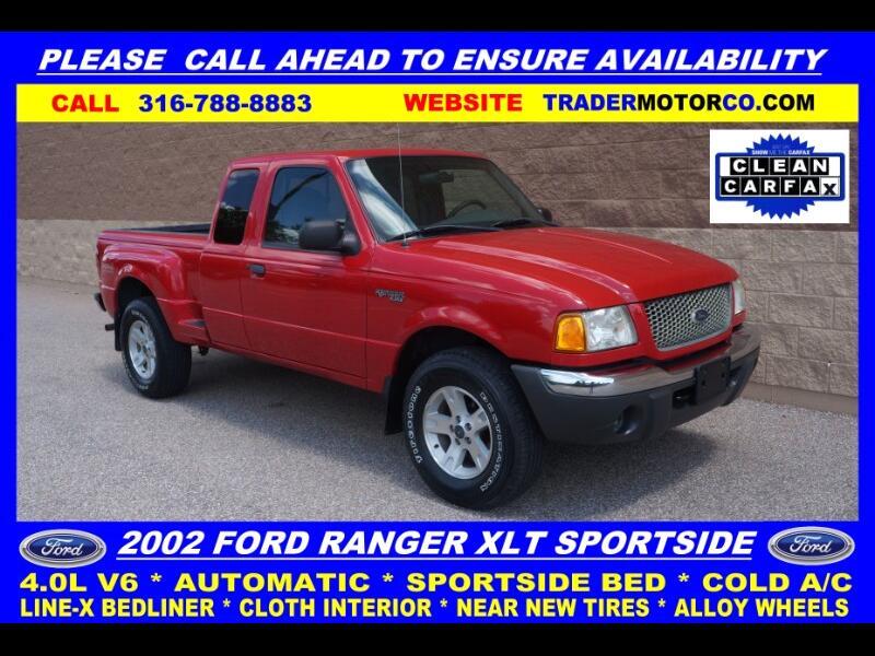 2002 Ford Ranger 4dr Supercab 4.0L XLT Off/Rd 4WD AT