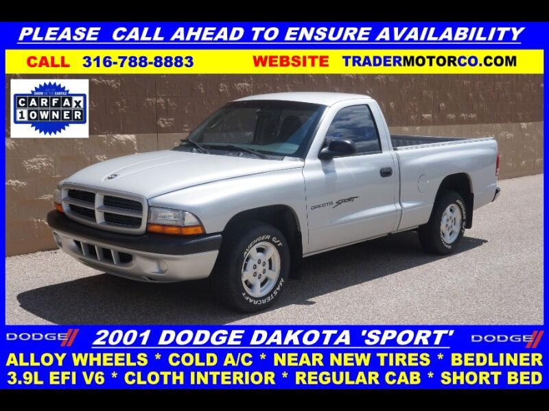 "2001 Dodge Dakota 2dr Reg Cab 112"" WB Sport"