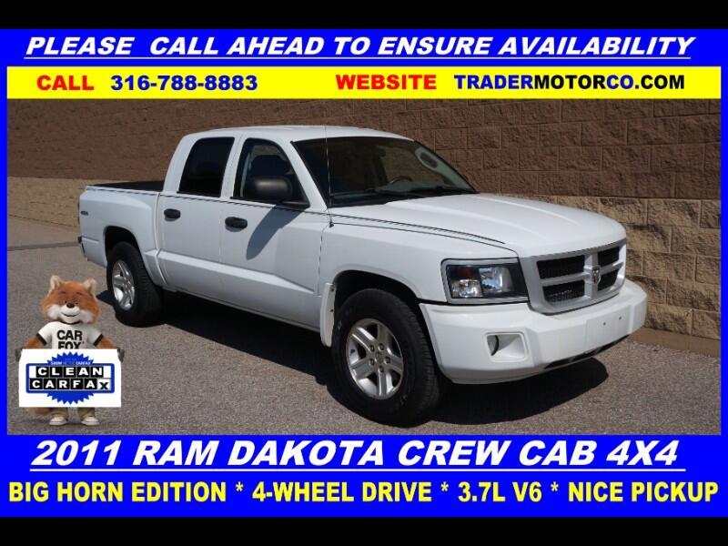 Dodge Dakota 4WD Crew Cab Bighorn/Lonestar 2011