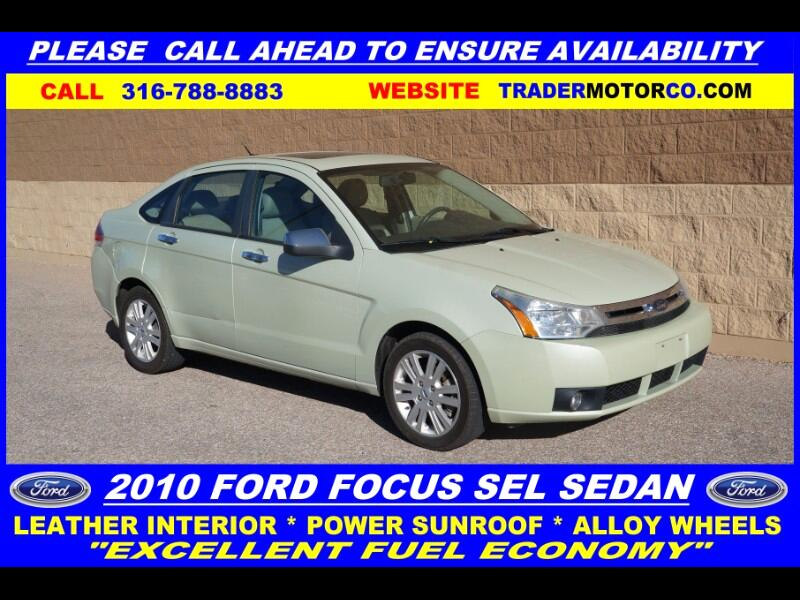 Ford Focus SEL Sedan 2010