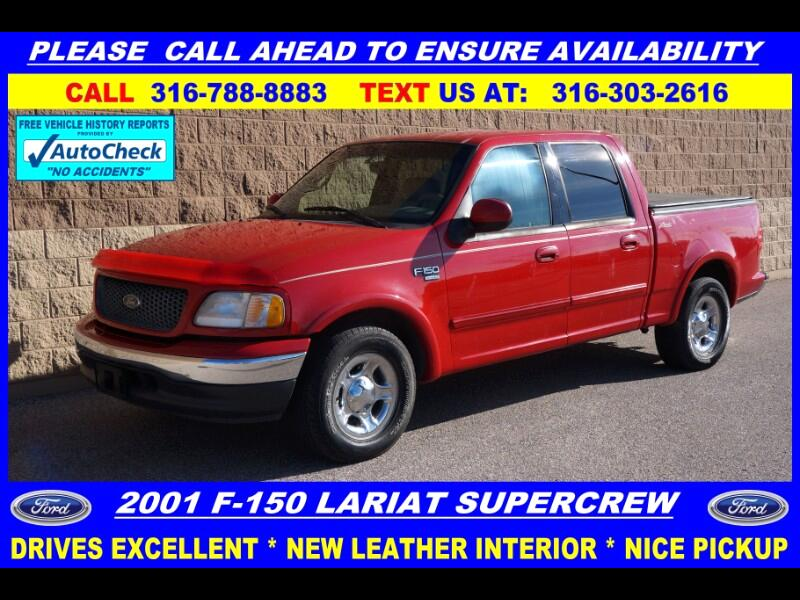 Ford F-150 Lariat SuperCrew 2WD 2001