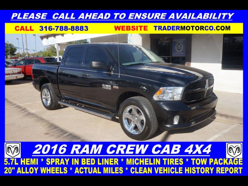 RAM 1500 Tradesman Crew Cab SWB 4WD 2016