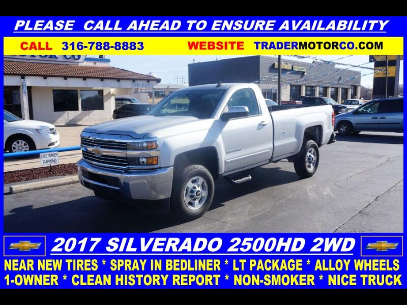 Chevrolet Silverado 2500HD LT Long Box 2WD 2017
