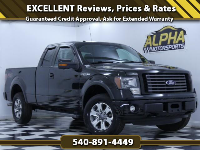 2012 Ford F-150 FX4 Extended Cab 4WD