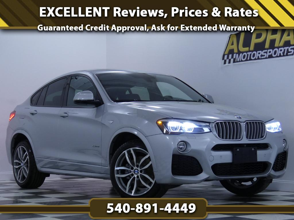 2015 BMW X4 xDrive28i w/ M-Sport package