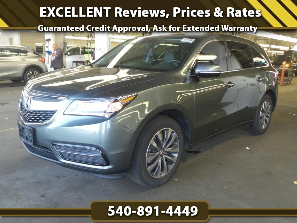 2016 Acura MDX SH-AWD w/ Tech & Entertainment