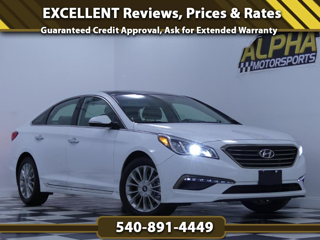 2015 Hyundai Sonata Limited w/ Technology Package