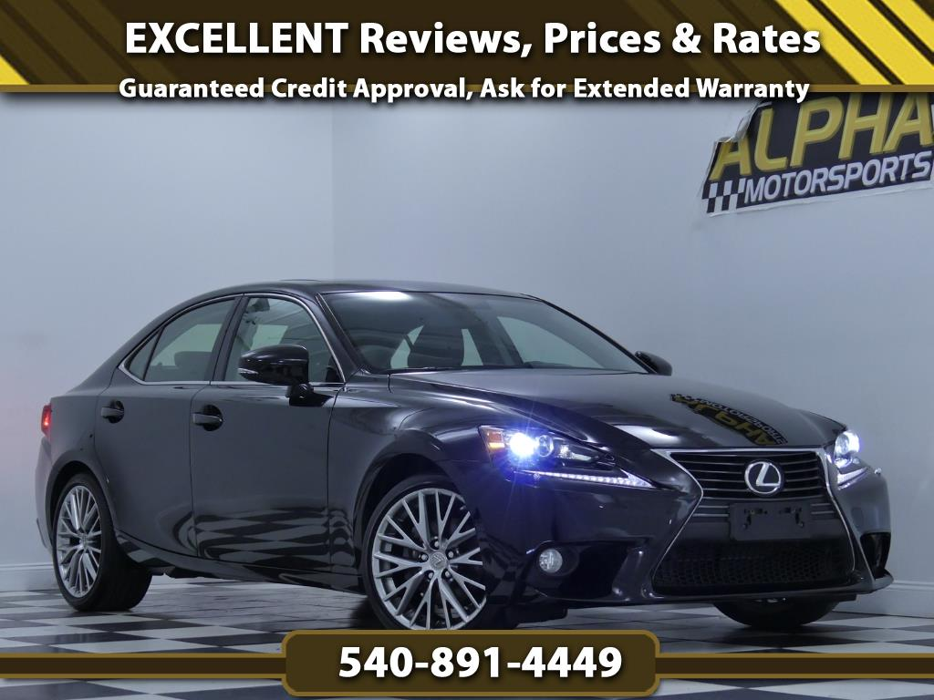 2014 Lexus IS 250 AWD w/ Premium Package