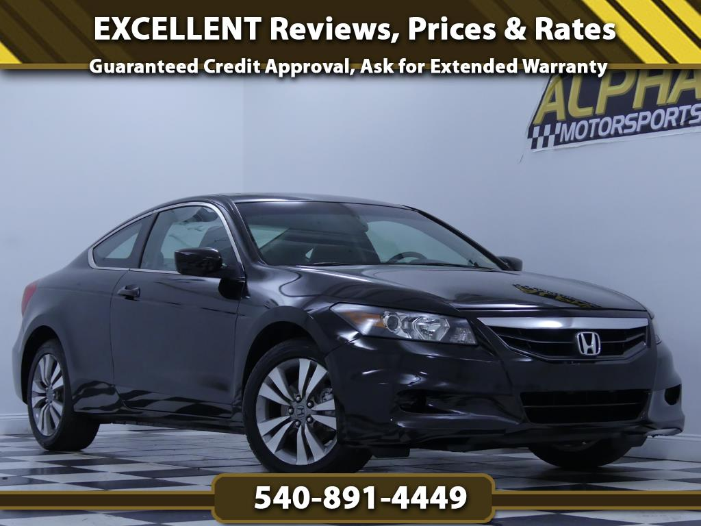 2012 Honda Accord EX-L Coupe AT with Navigation