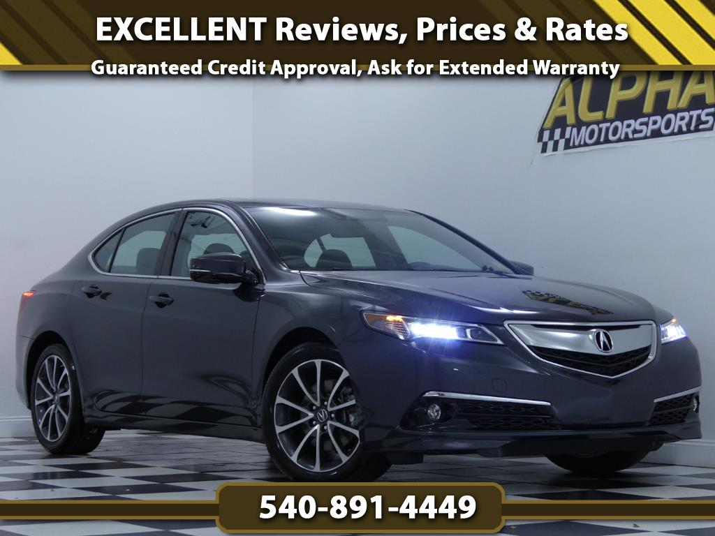2015 Acura TLX V6 SH-AWD w/ Advance Package