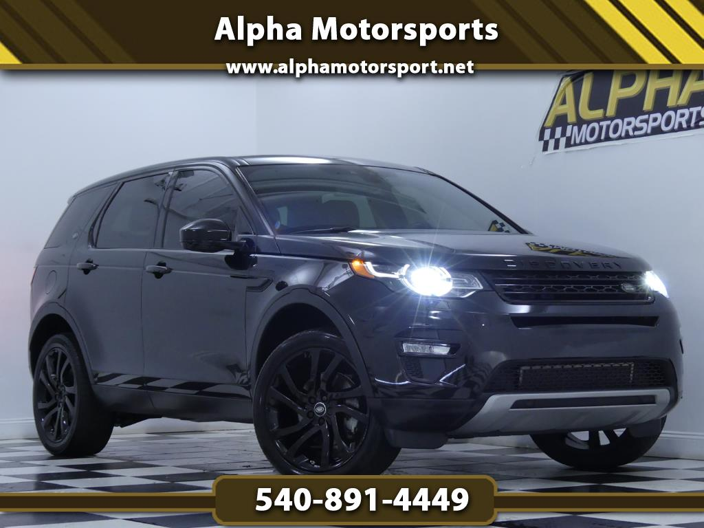 2015 Land Rover Discovery Sport HSE 4WD