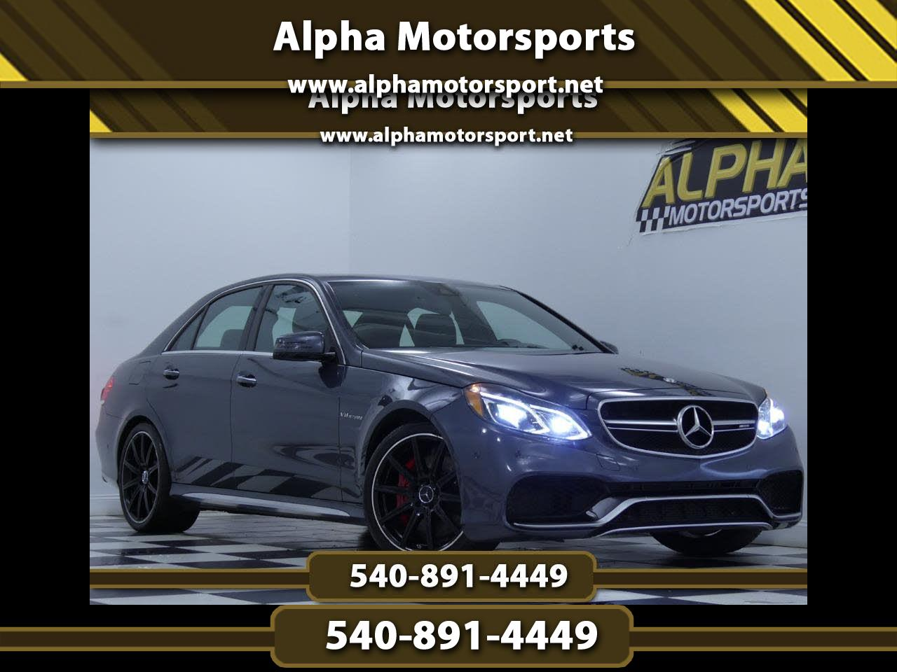 2015 Mercedes-Benz E Class E 63 AMG S-Model 4MATIC Sedan