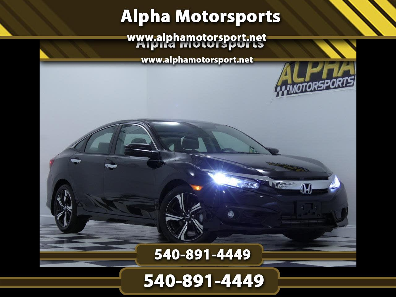2017 Honda Civic Touring Sedan CVT