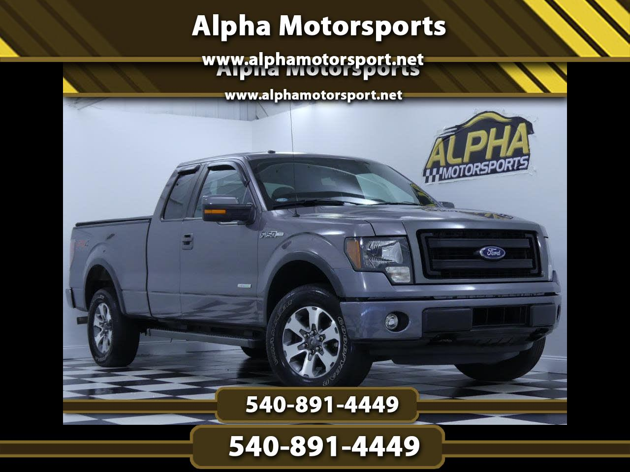 2014 Ford F-150 4x4 SuperCab FX4