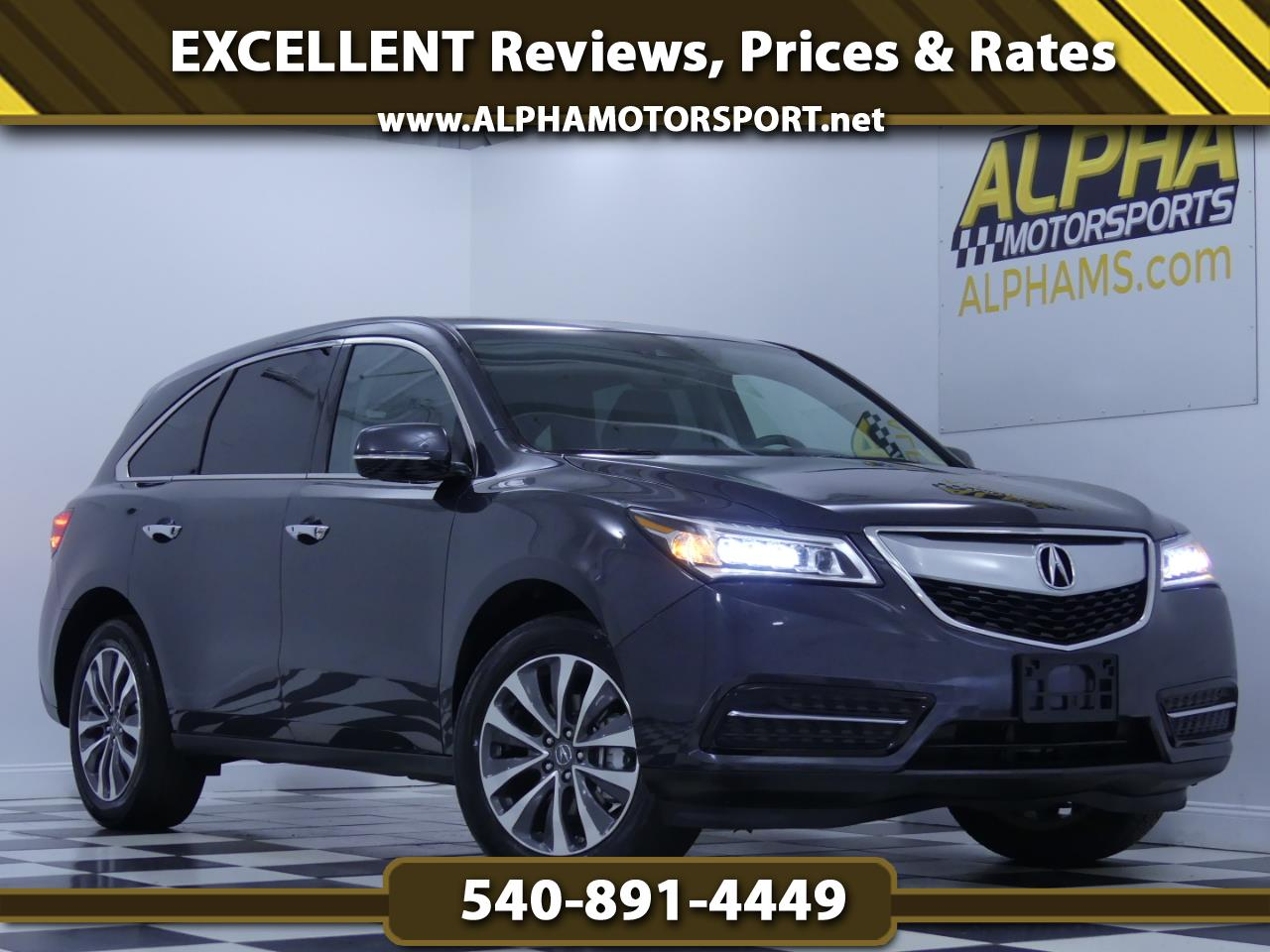 2016 Acura MDX SH-AWD w/ Technology Package